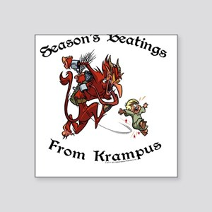 Season's Beatings [Color] Square Sticker